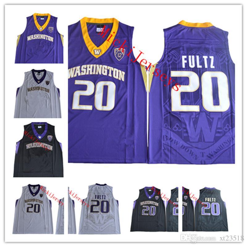 86b10b6ca 2019 Mens NCAA Washington Huskies Markelle Fultz College Basketball Jersey  Stitched White  20 Markelle Fultz Washington Huskies Jerseys S 3XL From  Xt23518