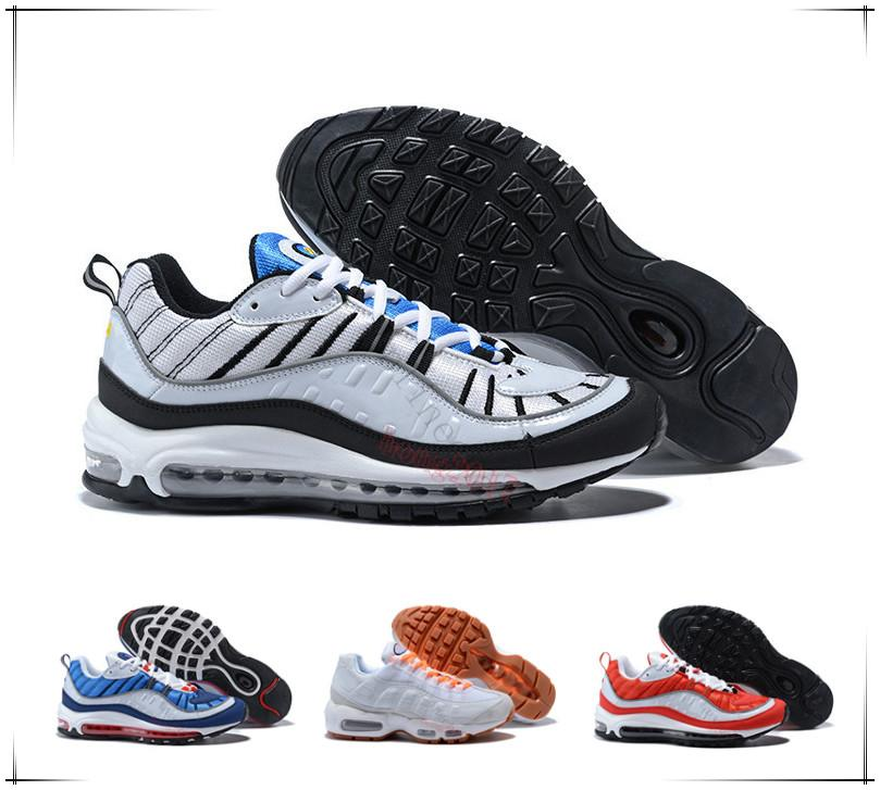 Men Women Sneakers Classic 97 Zapatillas Hombre Running Shoes Black White Trainer Cushion Breathable Walking Sports Shoes Siz36-46 cheapest price online sale discounts cheap with mastercard sale buy low price fee shipping cheap price tFRpsqg