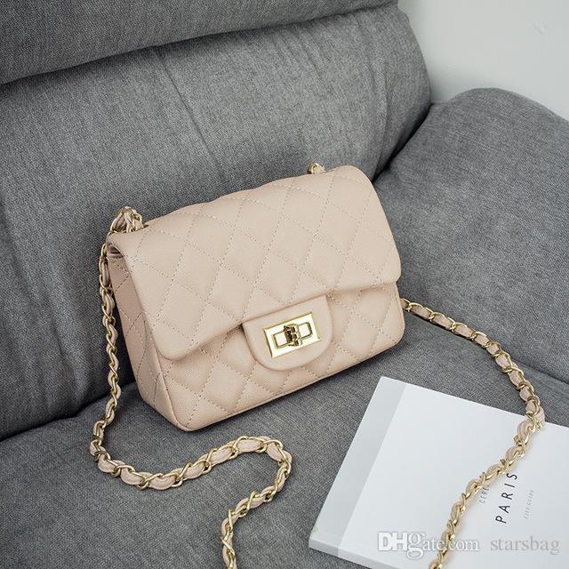 912b1b83d5 Women Handbags Chain Flap Bag Fashion Women High Quality Plaid Shoulder Bags  Vintage Black Leather Ladies Crossbody Bag For Girl Q 197 Italian Leather  ...