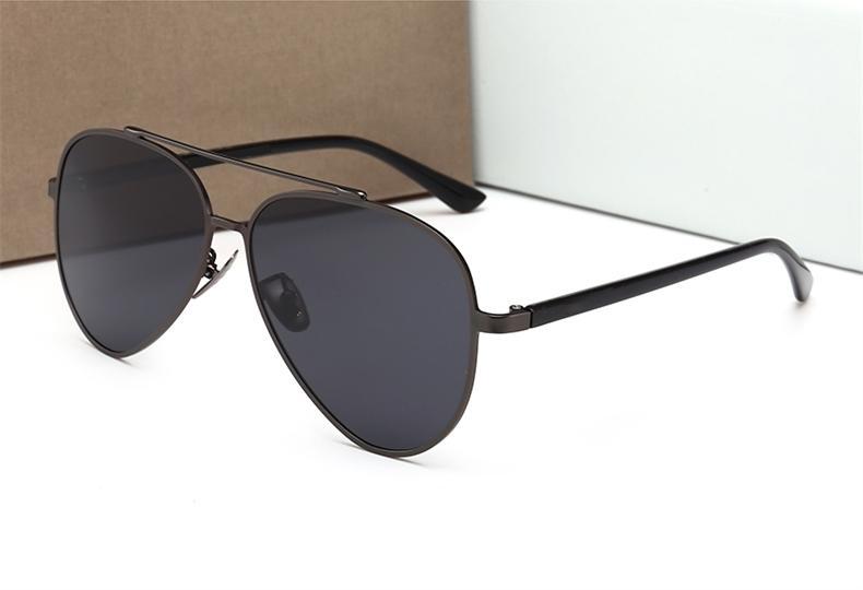 7680768ddf New France Designer Retro Oversized Pilot Sunglasses Women Brand Men ...