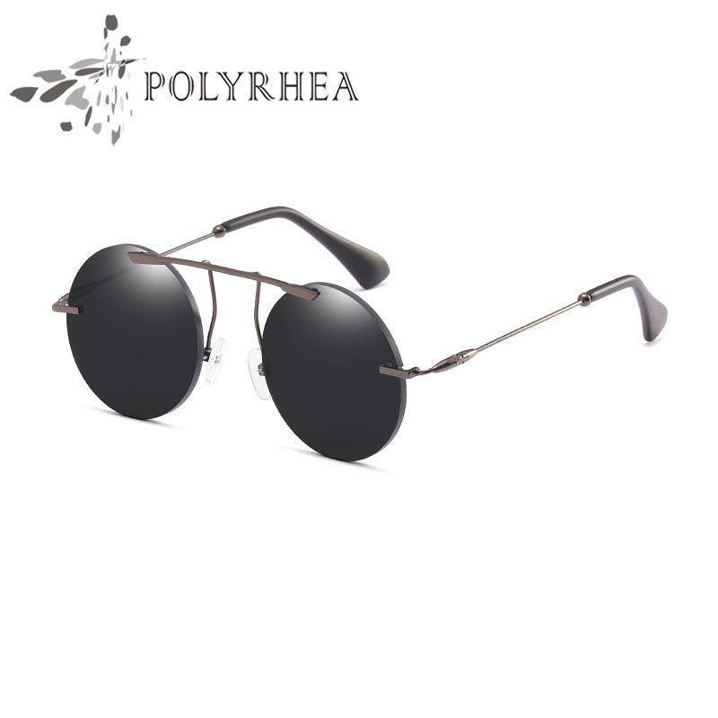 88d9c478b 2018 Hot Sale Brand Vintage Sunglasses High Quality Round Sunglasses Mens  Womens Designer Brand Sun Glasses With Box Case Cheap Prescription  Sunglasses ...
