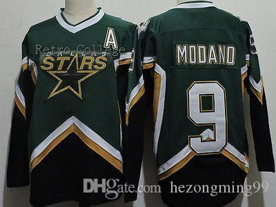2019 Dallas Stars  9 Mike Modano 2005 CCM RETRO Hockey Jersey Embroidery  Stitched Customize Any Number And Name College Jerseys From Hezongming99 060dbd0b2