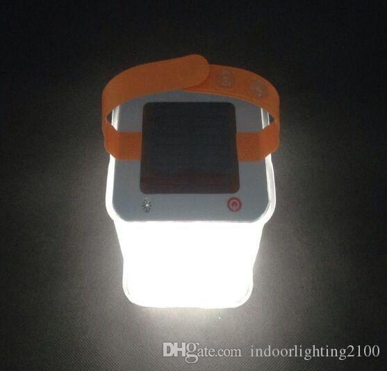 승진 야영 그늘 천막 팽창 식 태양 빛 접이식 에어백 점화식 태양 전지판 옥외 휴대용 전등 설비