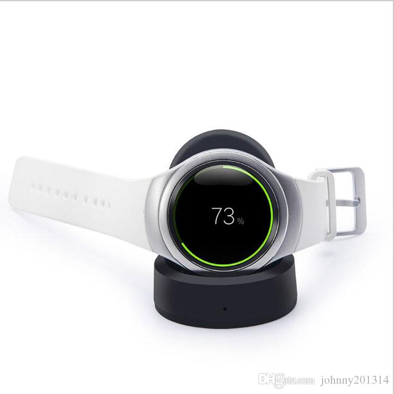 Hot For Samsung Gear S2 S3 Smart Watch Wireless Charger Transmitter Fast charging Wireless charging Dock Pad Connected With USB Desktop