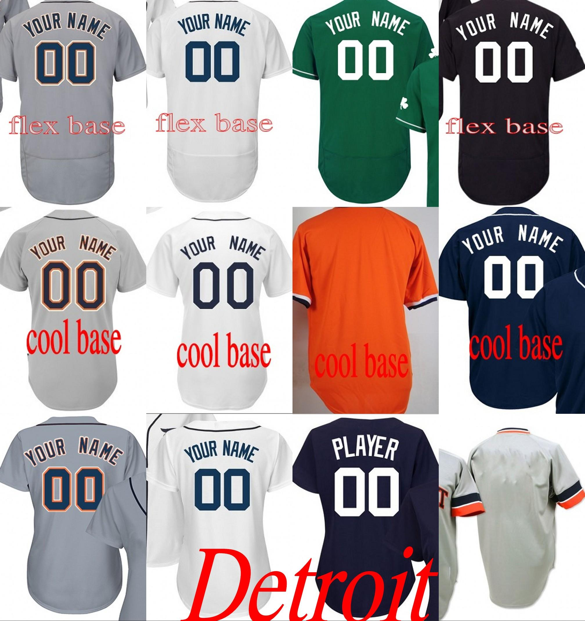 308ae54c3 Men s Women Youth Detroit 24 Miguel Cabrera Customized Any Name ...