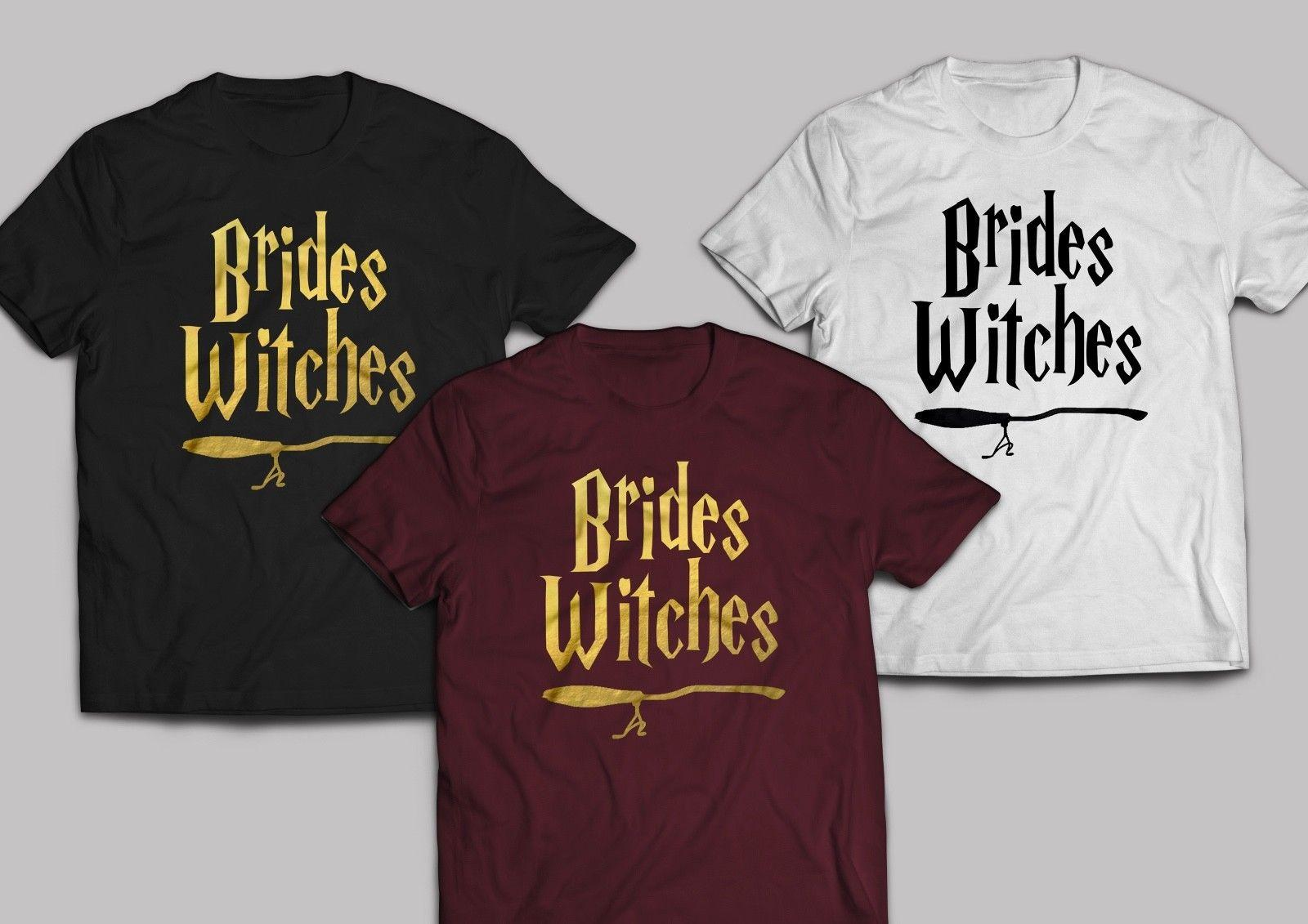 75799e7b Brides Witches T Shirt Diy Iron On Vinyl Transfer Hen Party Harry Potter  Muggle Funny Unisex Casual Tee Gift Top Cute T Shirts Nerd T Shirts From ...