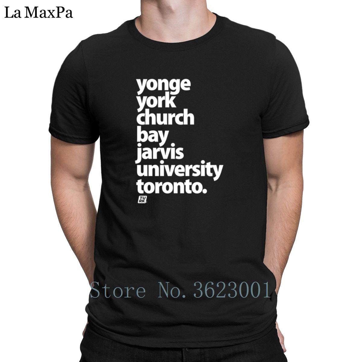 Print S 3xl Tee Shirt Toronto Street Names Downtown Mens Tshirt