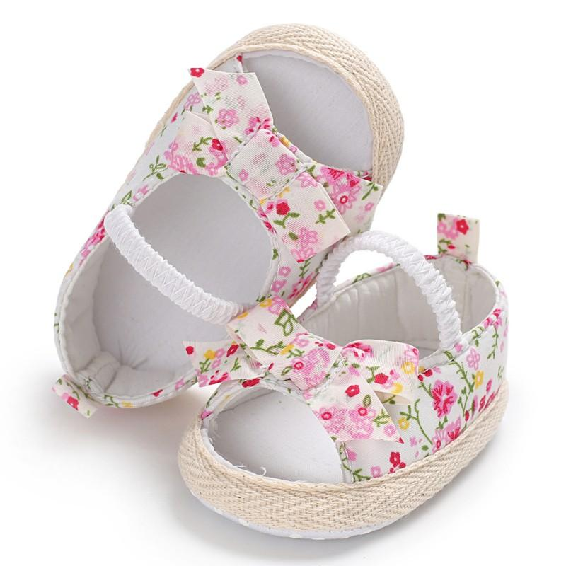 2018 Summer Casual Baby Sandals Cotton Fabric Breathable Floral Print Kid  First Walkers Hot Selling Child Shoes Q1 Toddler Kids Shoes Toddler Boots  For Boys ...