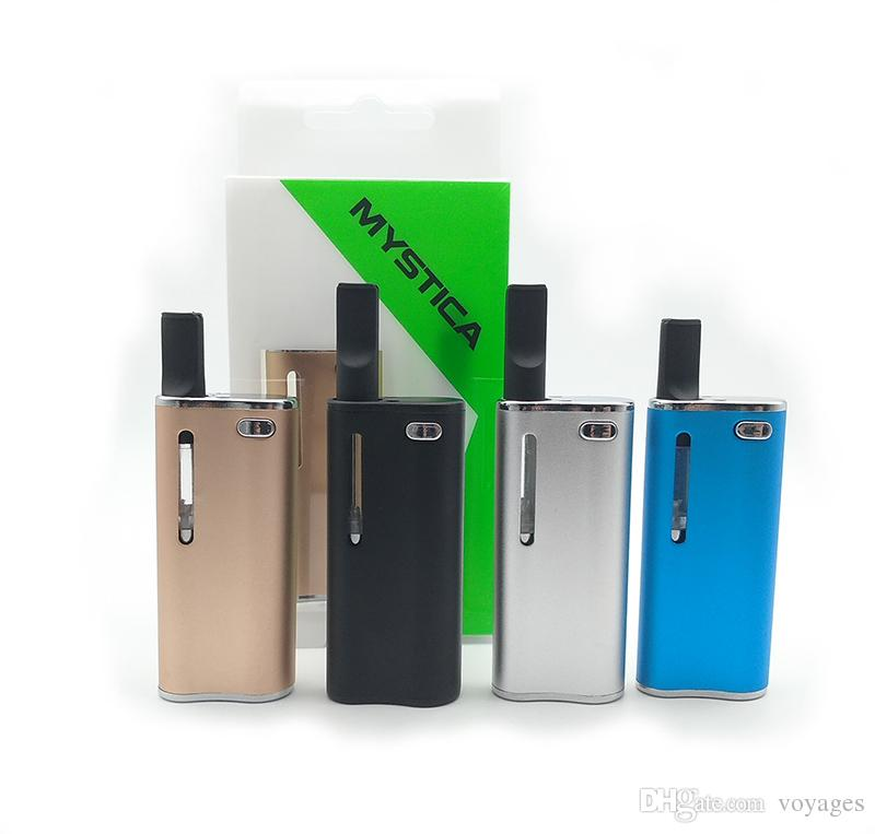 Original Mystica V11 Vape Pen Thick Oil Electronic Cigarettes 650mah magnetic With G2 Tank Magnet Connection Fit 510 Thread Cartridges