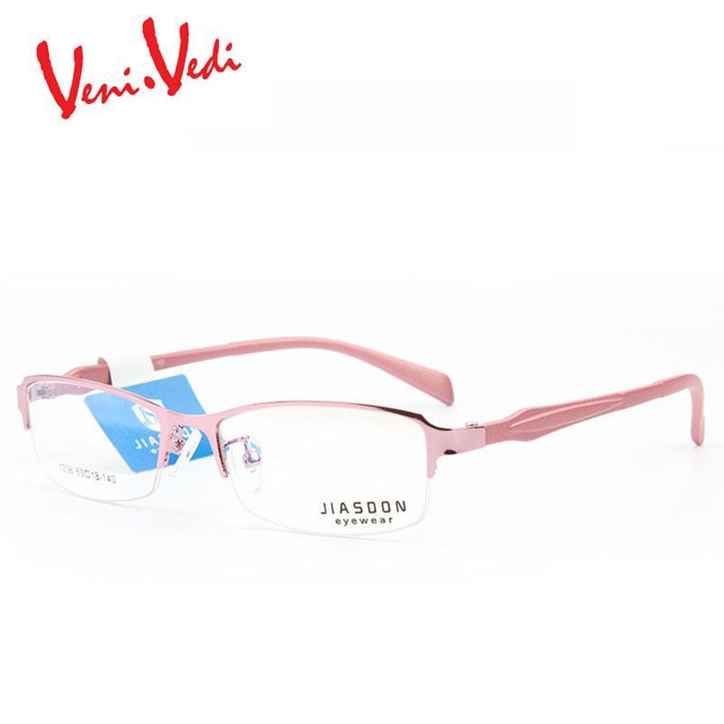 27cae21303d5 T Veni Vedi 2017 New Women s Optical Glasses Frame Women Half Frame ...
