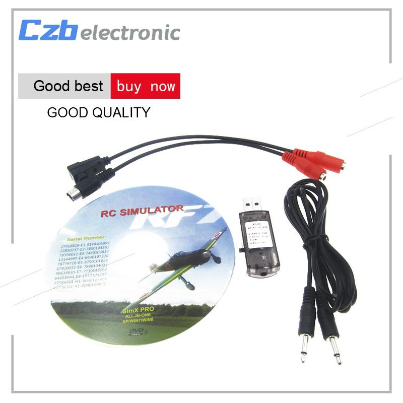 22 in 1 22in1 RC USB Flight Simulator Cable for Realflight G7 / G6 G5 5 G5  Phoenix 5 0 Flysky FS-I6 FS-TH9X FS-T6 FS-CT6B