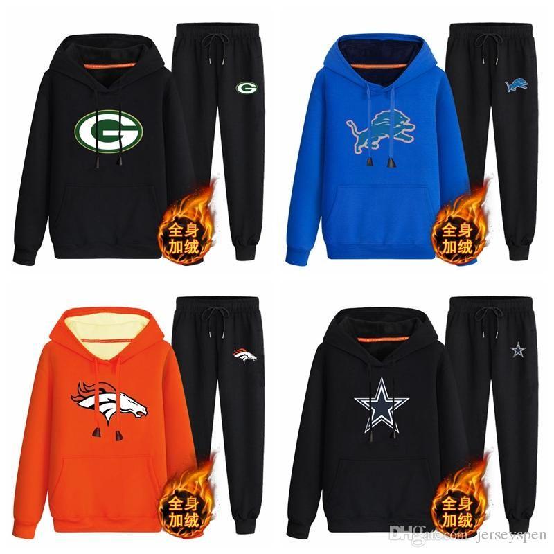 the best attitude 5f098 c96e5 Green Bay Packers Detroit Lions Denver Broncos Dallas Cowboys black  70%cotton 30%polyester Cashmere coordinates