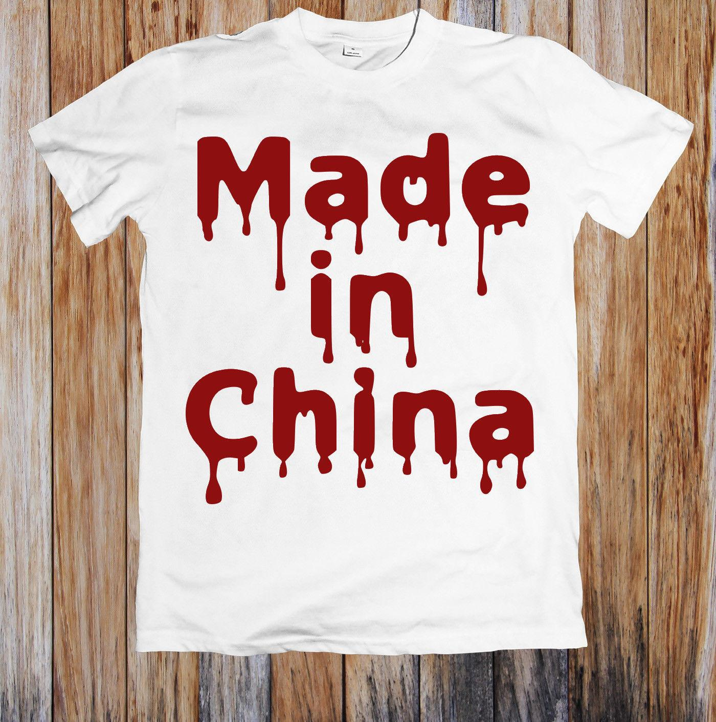 e428ea849 BLOODY MELTING MADE IN CHINA FUNNY UNISEX T SHIRT Cotton Fashion Men T Shirt  It T Shirt Design Clever Tee Shirts From Gaobei10, $11.48| DHgate.Com
