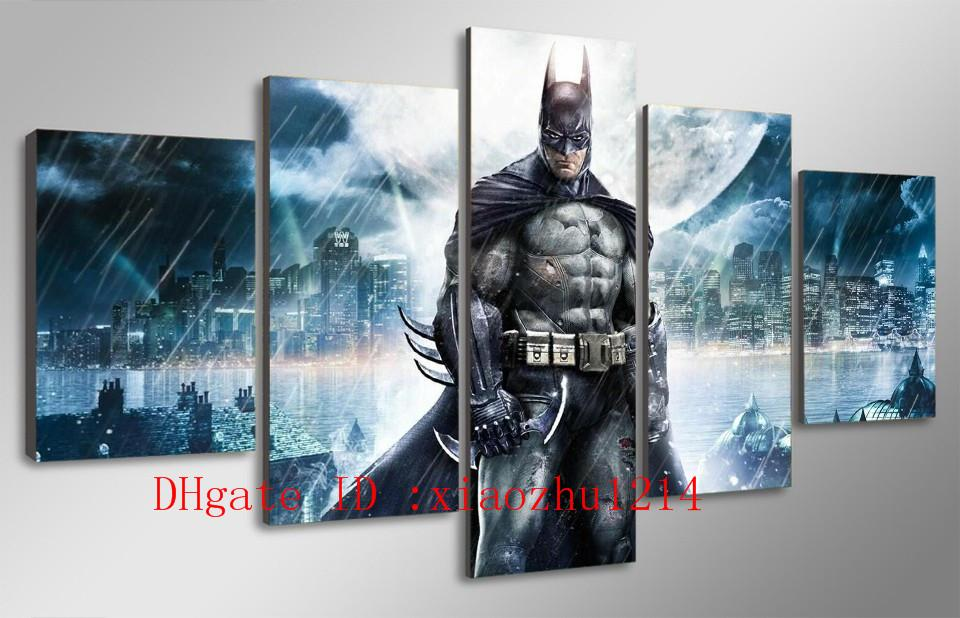 2018 Batman Movie Poster,Home Decor Hd Printed Modern Art Painting On  Canvas Unframed/Framed From Xiaozhu1214, $17.09 | Dhgate.Com