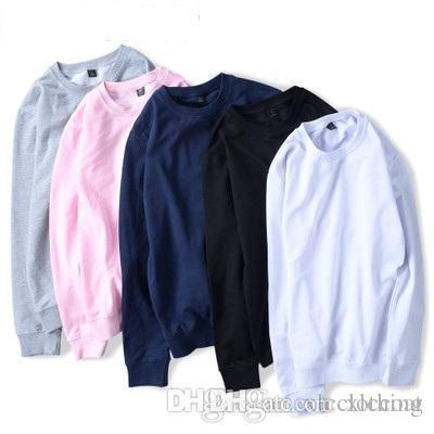 02375d19b FGKKS 2018 Brand Men Casual Hoodies Sweatshirt New Spring Solid ...