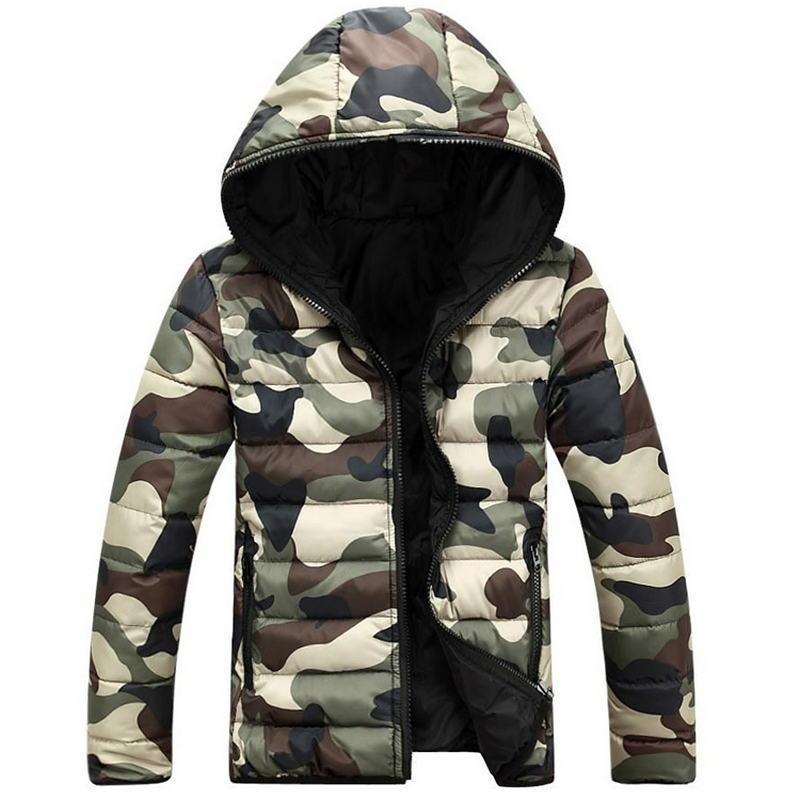 fd5ceedf6679 2018 Brand Men S Clothing Winter Jacket With Hoodies Outwear Warm Coat Male  Solid Winter Coat Men Casual Warm Down Jacket UK 2019 From Jujubery