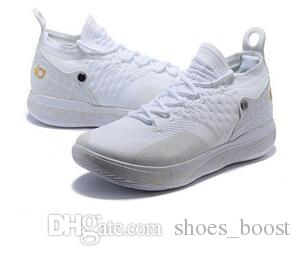 c8a415d64c5b3c 2018 New KD 11 EP White Orange Foam Pink Paranoid Oreo ICE Basketball Shoes  Original Kevin Durant XI KD11 Mens Trainers Sneakers Size40 46 Canada 2019  From ...