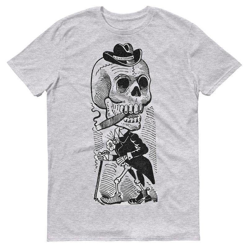 Acquista Costume Da Scheletro Di Scheletro Del Cranio Cappello Uomo