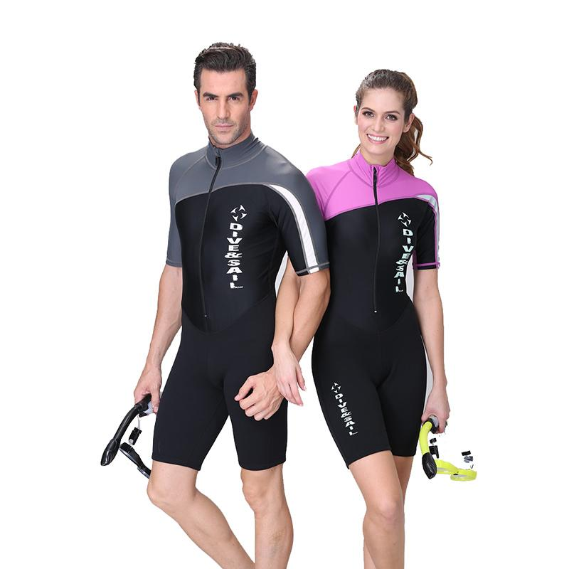 2019  Amp  Sail  Amp Sail Neoprene Wetsuit Couple Dive Skin Suit Body Suit  Long Short Sleeve One Piece For Skin Diving Rashguard From Sports1234 9516aaca5