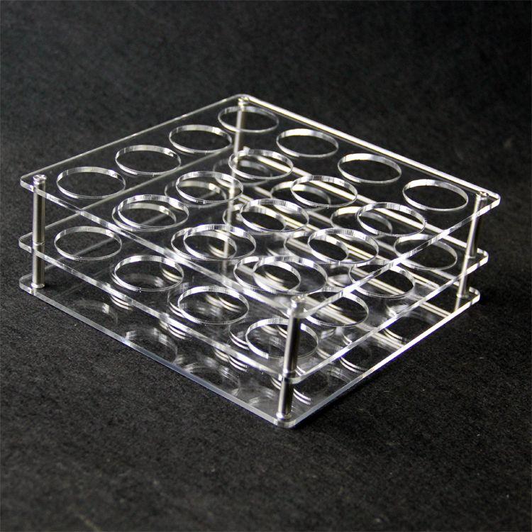 Acryl display klar stehen regal halter vape rack vitrine für 10 stücke oder 16 stücke 60 ml plastikflaschen e flüssigkeit eJuice DHL