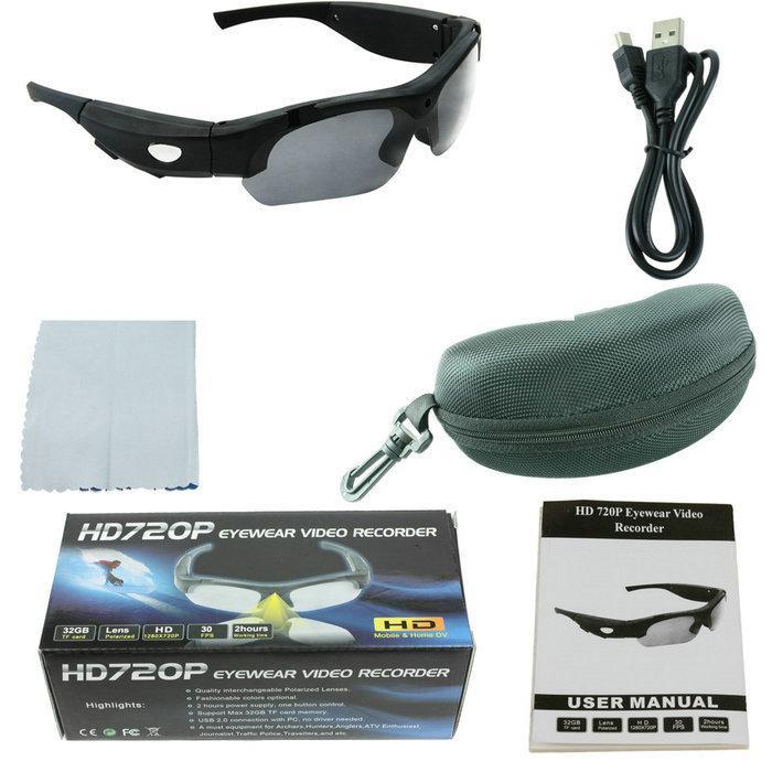 e4ccfbcd3cb 2017 Original DV Sports Polarized Sunglasses Eyewear Video HD 1080P Camera  DVR 65 Degree Recorder Cam Outdoor Camera Recorder Cheap Video Cameras From  ...