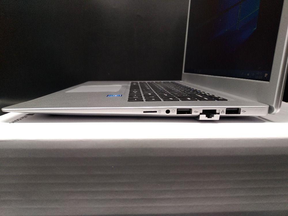 15.6 polegadas laptop FHD 1920x1080 tela IPS Intel Apollo Lake N3450 1.1-2.2 GHz 6 GB de RAM 64 GB SSD ultrafinos janelas 10 bluetooth webcam wi-fi