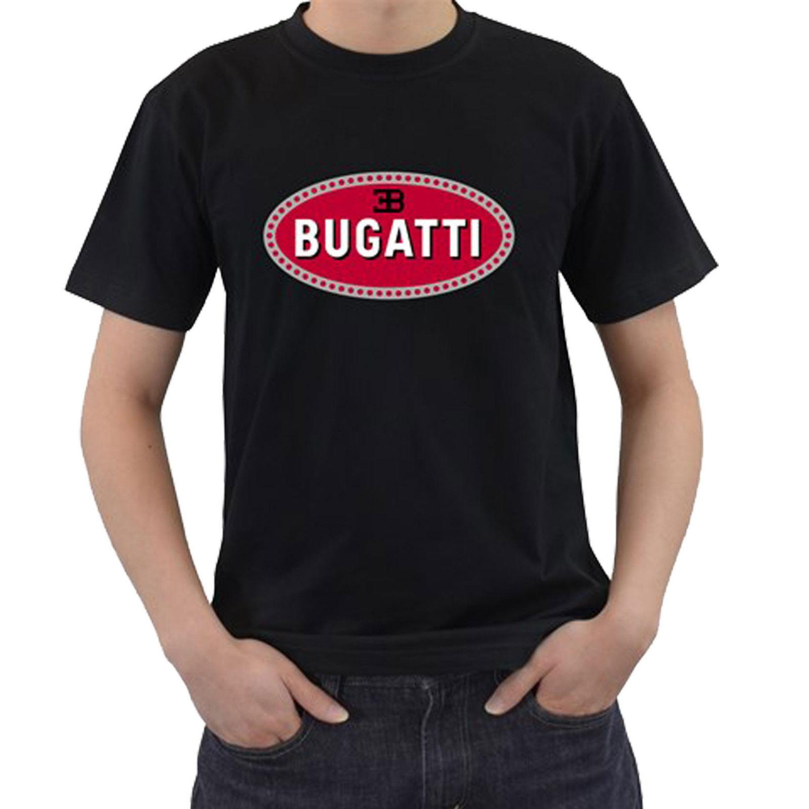 dd287c18773 New TEE BUGATTI Car Logo Vintage T Shirts Size S 3XL Unisex Brand Clothes  Summer 2018 Sale 100 % Cotton T Shirt Mbappe France Tee Shirt Sites T Shirt  1 From ...