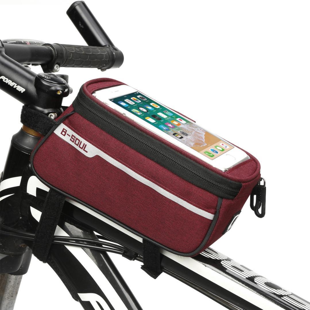 a6c73c73a35 Compre Bicicleta, Bicicleta, Bolsa, Viga Delantera, Bicicleta, Carretera,  Coche, Equipo De Equitación, Montura, En, Tubo, Suministros, Herramienta,  Mtb, ...