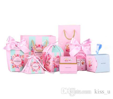 Sample Wedding Gifts For Guests Candy Box 2018 New Design Wedding