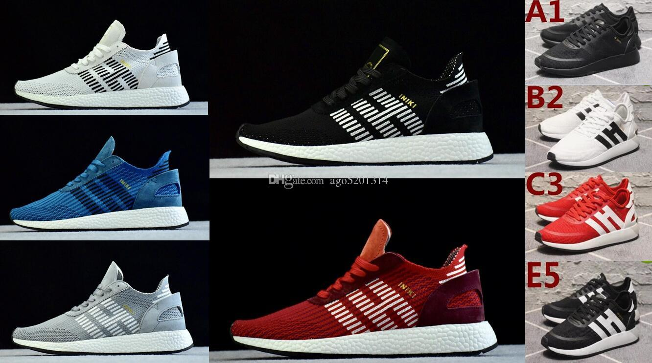 2014 new official cheap price INIKI 2018 new arrival Originals iniki Sports pk Shoes Cheap Leather Men and women Skateboard Trainer Sneakers Size US5--11 eastbay for sale nFfr2Ek