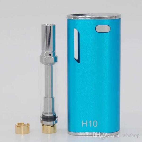 Otantik Hibron H10 Yağ Marş Kiti 650 mAh Pil Kutusu Mod 0.8 ml H10 Perakende kutusu ile Yükseltildi CE3 Atomizer Buharlaştırıcı