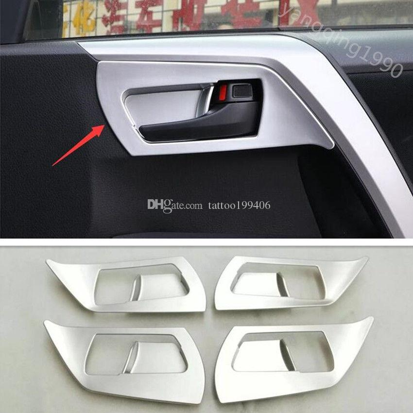 For Toyota Rav4 2016 2017 2018 Abs Chrome Interior Door Handle Bowl ...