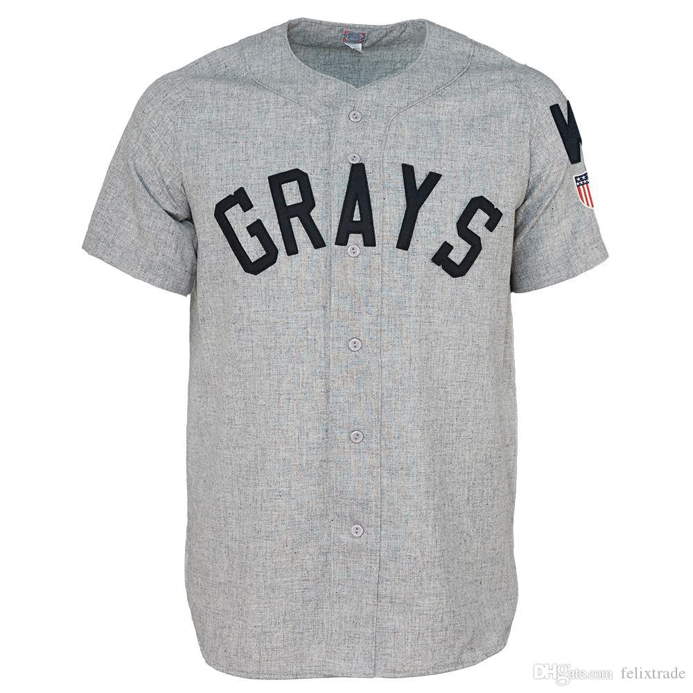 2019 Washington Homestead Grays 1944 Road Jersey Double Stiched Baseball  Jersey For Men Women Youth Customizable From Felixtrade 642499f3ff