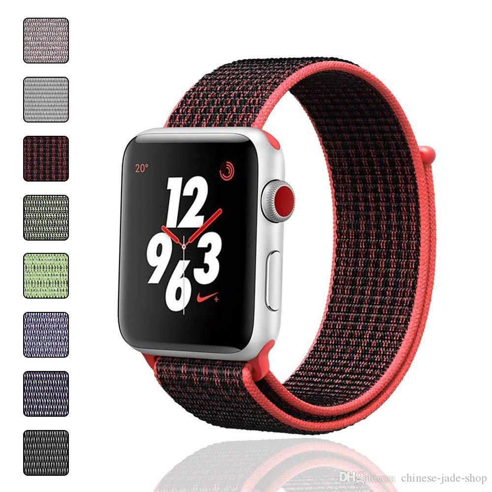 For Apple Watch Band Series 4 3 2 Jewelry & Watches Stainless Steel Iwatch Strap 44mm 42mm 40mm Smart Watches