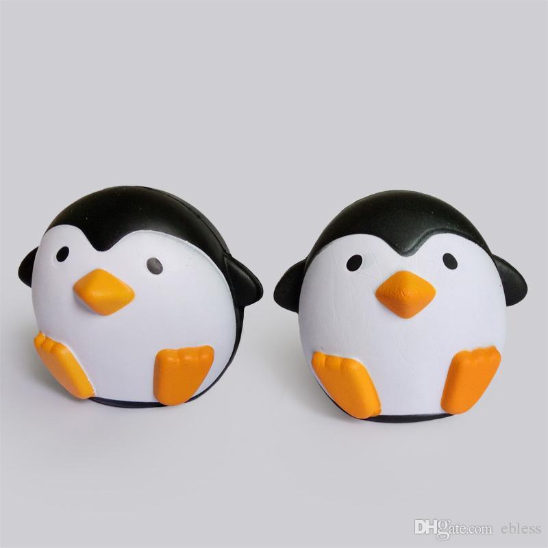 Pengin mignon Simulation montante Jumbo Squishy jouet Sweet Belle parfum parfum Décoration Squeeze Pingouin Squishies Toys