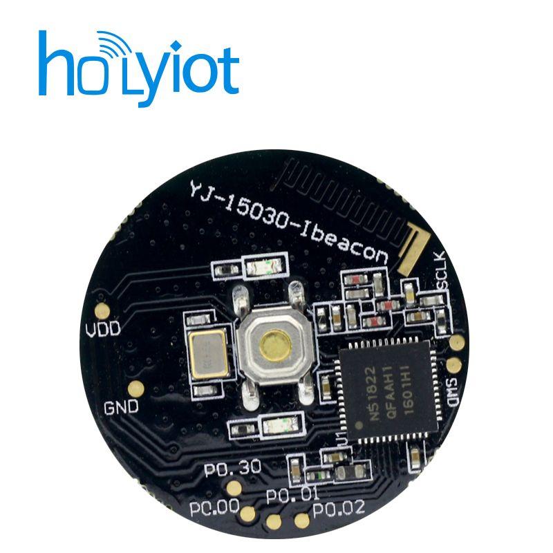 Nordic NRF51822 BLE iBeacon module, Bluetooth 4 0 serial port transmission  bluetooth module