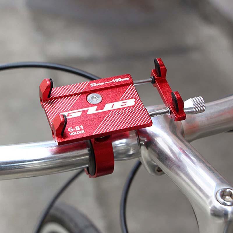 a9766b477 Compre Universal Bike Phone Mount Soporte De Aleación De Aluminio Manillar  Clip Soporte De Bicicleta Rack Motocicleta Mtb Soporte De Bicicleta Soporte  De ...