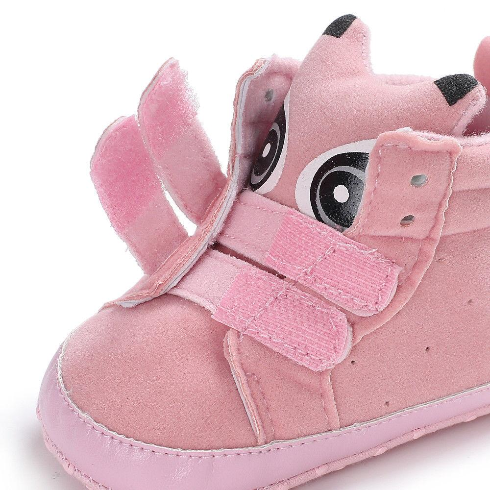 Newborn Toddler Boot Cotton Shoes Fashion Pattern Baby Boots Soft First Walker Warm Shoes Booties Shoes For Girls And Boys Mother & Kids Baby Shoes