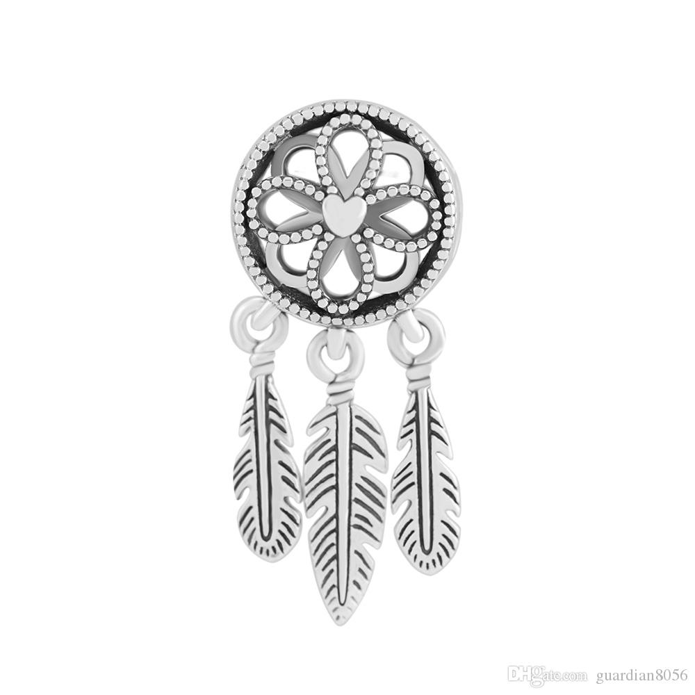 1ef51bc1e 2019 Fits Charms Pandora Bracelets 2018 Summer Spiritual Dream Catcher Charm  Beads 925 Sterling Silver Charm DIY Jewelry For Women Making From  Guardian8056, ...