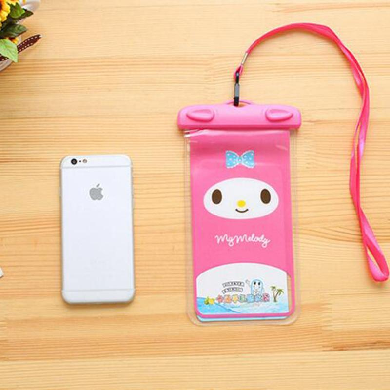 Animal Waterproof case Universal Water Proof Bag armband pouch Cover For all iphone Cell Phone bag
