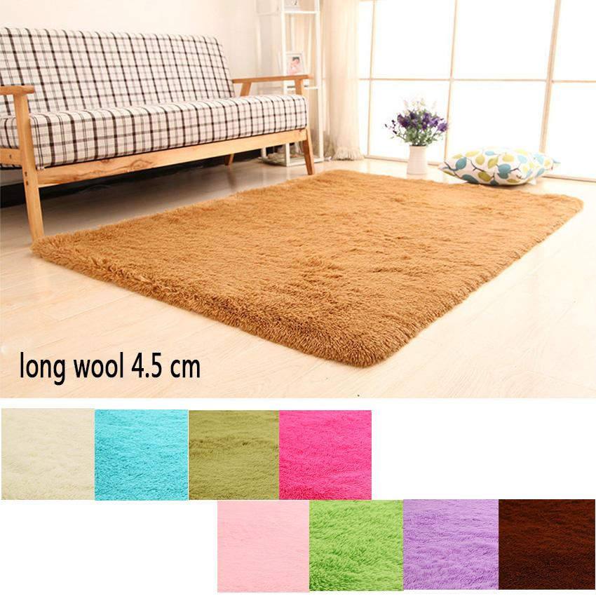 Hot Sale Rugs Bedside Bedroom Floor Mat Indoor Living Room Carpet