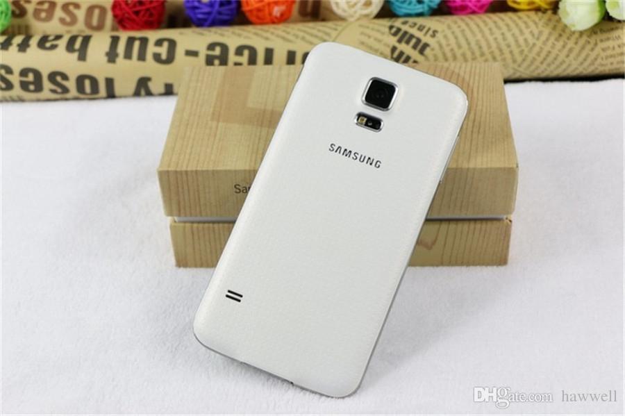 الأصلي تجديد سامسونج غالاكسي S5 G900F G900A G900V G900T G900P 5.1 بوصة رباعية النواة 2GB RAM 16GB ROM 4G LTE مقفلة الهاتف DHL