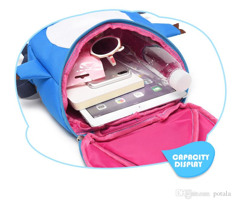 3D Dinosaur kids backpacks kindergarten school backpack anime gift fila mochila anime baby bag free movies toddler borsetta Plush bookbags