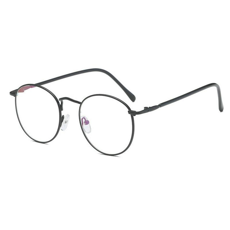 fdfd0845986c 2018 2018 New Round Art Gold Fine Wire Optical Metal Spectacle Frame  Women s Myopia Frame Men s Plain Light Cosmetic Glasses JW From  Fashionkiss