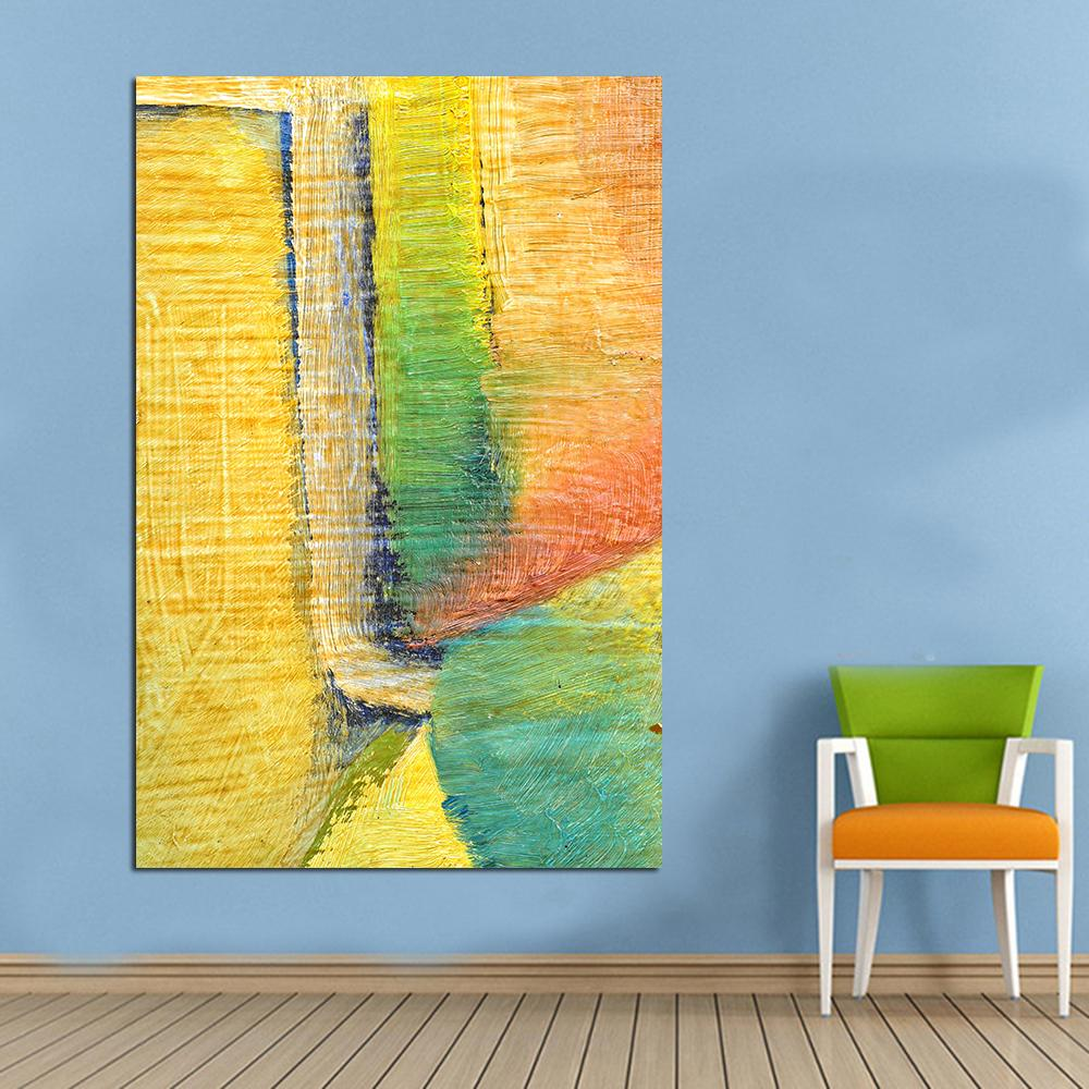 Online Cheap Wall Pictures On Canva Wall Art Colorful Oil Painting ...