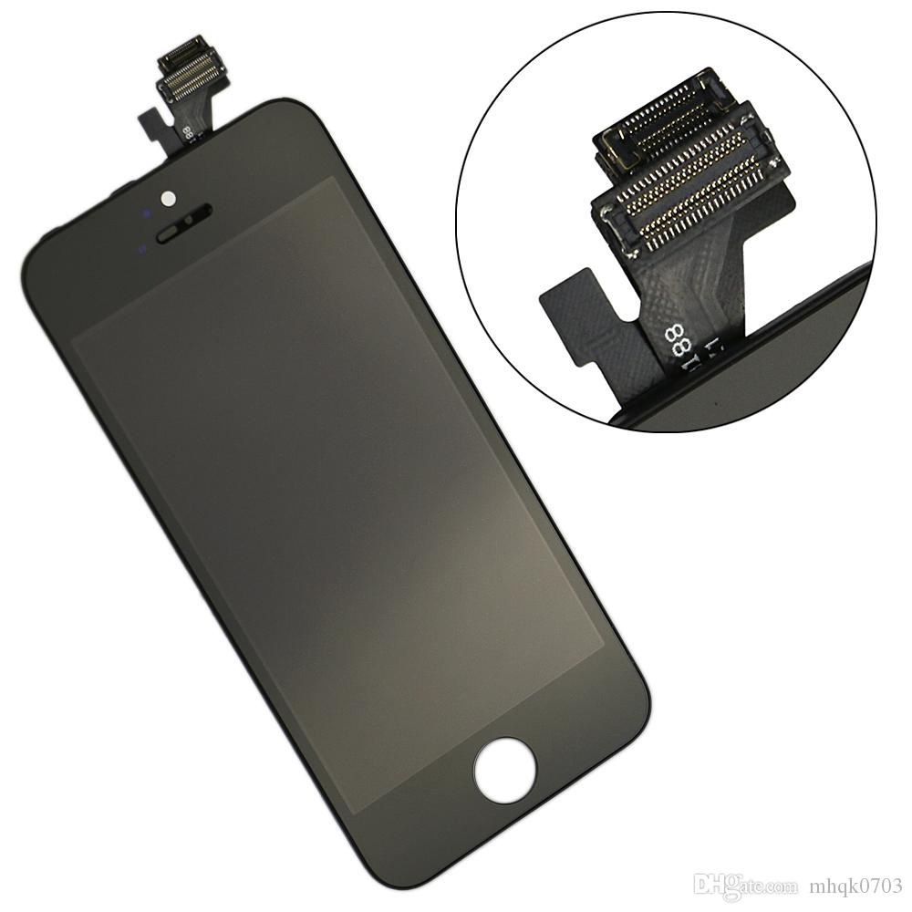 Fabrik-Preis Großhandel Grade A ++ LCD für iPhone 5 5S 5C LCD Display Touchscreen Digitizer frei Besten Reparatur-Wiedereinbau mit Reparatur-Werkzeug