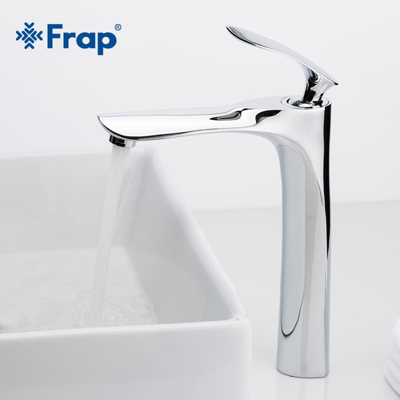 2018 Frap Basin Faucets Bathroom Faucet Hot And Cold Water Basin