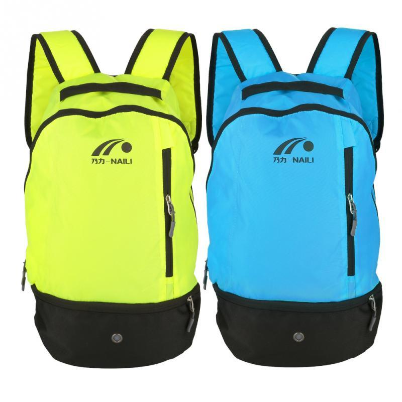 fa93f2667299 2 Colors Outdoor Sports Multifunctional Football Shoulders Bag Nylon  Durable Soccer Ball Training Storage Backpack