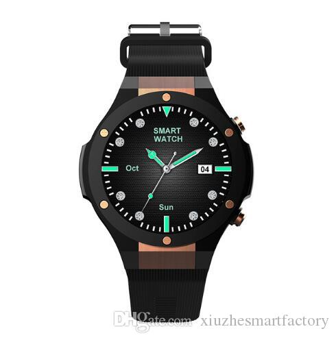 Watches Men's Watches Cheap Price 2018 Watches Mtk6580 H2 Android Ios 1g+16gb Smart Watch 1.39 Inch Smartwatch Phone 3g Wifi Gps 5m Heart Rate Nano Sim Gsm Wcdma