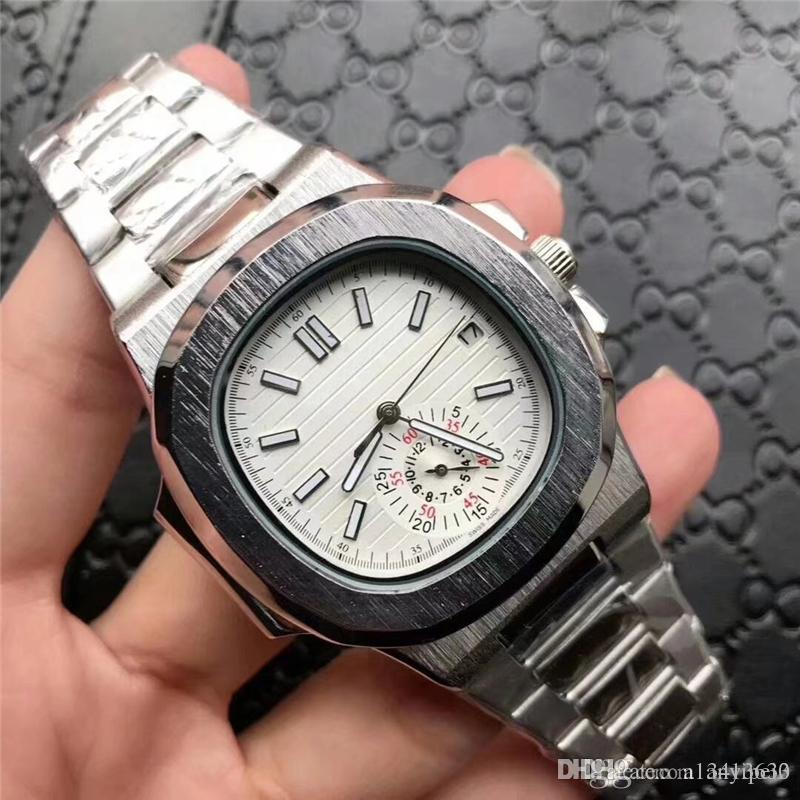Classic Mens Watches Top Brand Business Watch Automatic Men Stainless Steel Watches Men Silver Fashion Dress Watch Brands Relojes Masculino